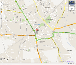 Map of Heritage Hotel Portlaoise