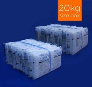 20kg of Dry Ice Sices