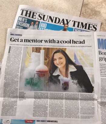 Get a mentor with a cool head