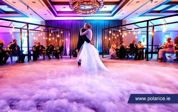 Wedding Special Effects: Dancing on Clouds