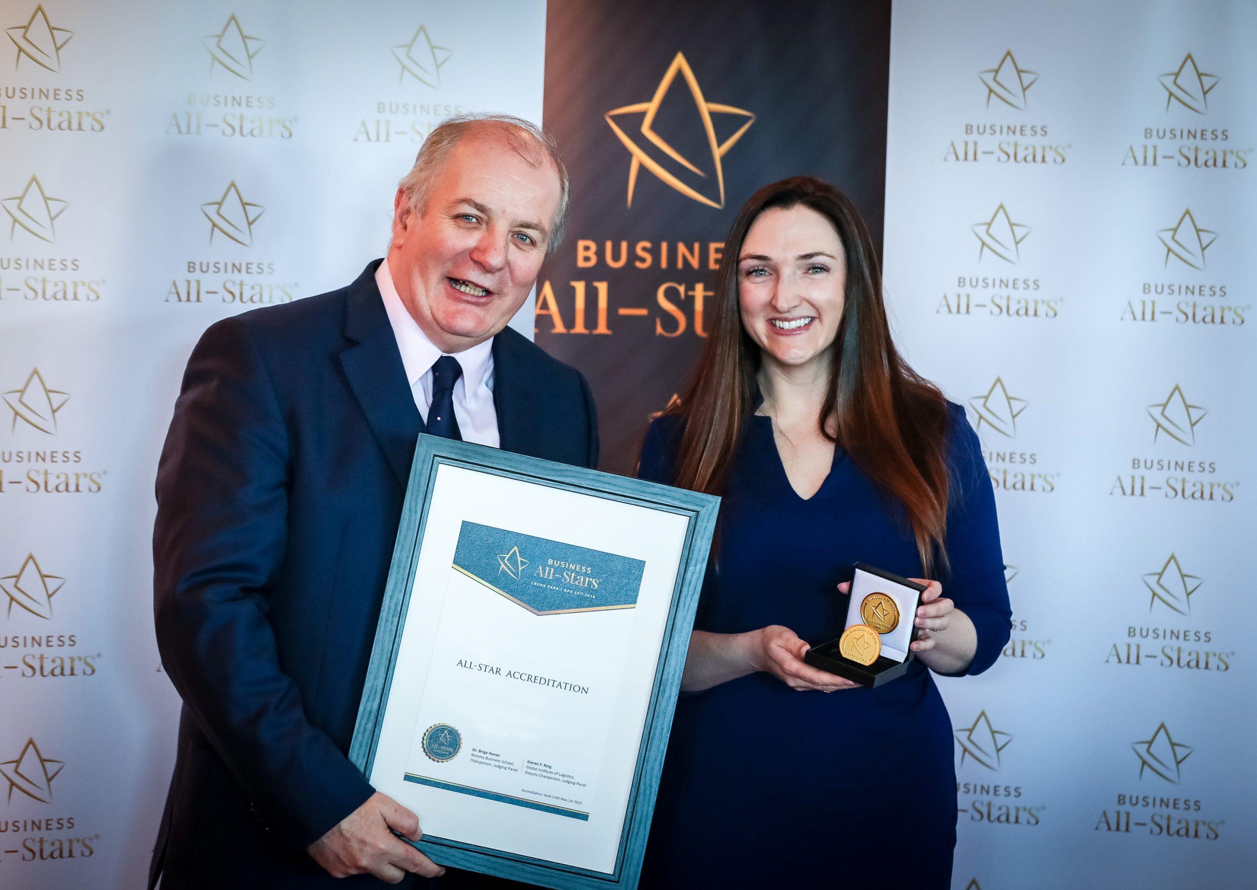 Polar Ice accredited as Business All-Star