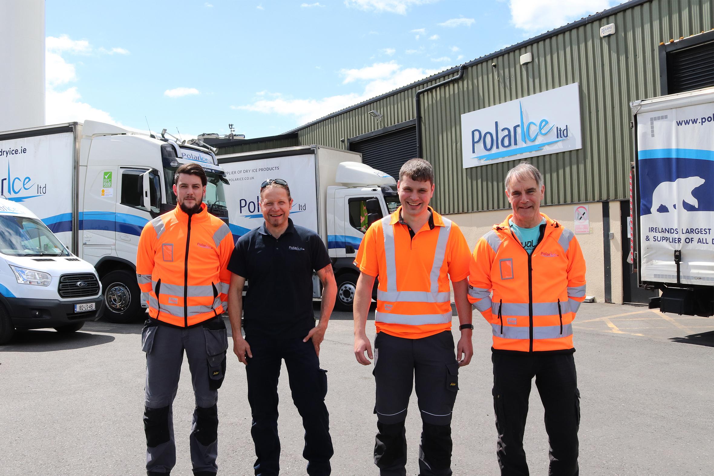 Polar Ice Team of Drivers