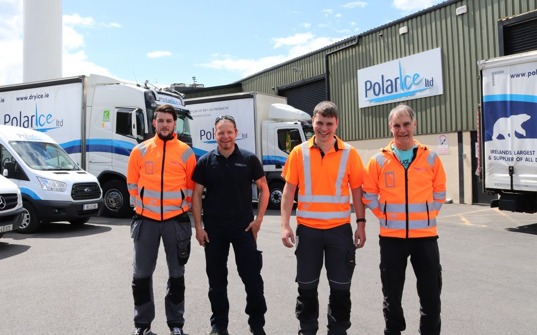 Polar Ice Drivers; Stephen Flanagan, Raivo Podniek, Ronan Dunne, Anthony Crosbie