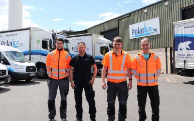 Polar Ice Drivers Receive Transport Heroes Award