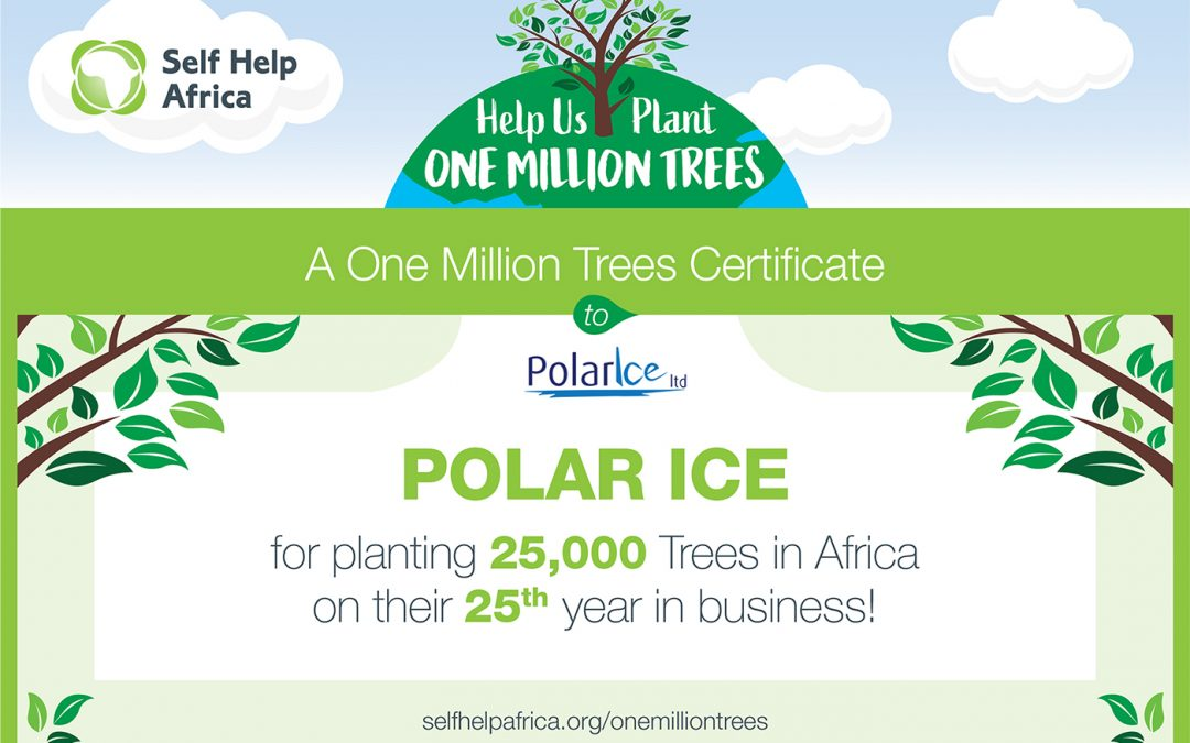 Planting 25,000 Trees to Mark 25 Years In Business